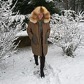 Одежда handmade. Livemaster - original item Coat, winter jacket