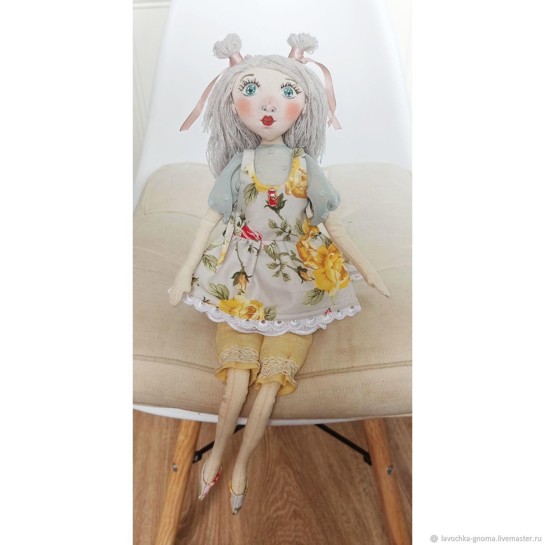 Летняя девочка, Интерьерная кукла, Санкт-Петербург,  Фото №1