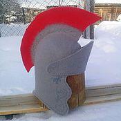 """Для дома и интерьера ручной работы. Ярмарка Мастеров - ручная работа Банная шапка """"Римский легионер"""". Handmade."""