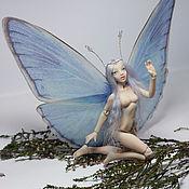 Куклы и игрушки handmade. Livemaster - original item Mona, butterfly (12,5 cm). Handmade.