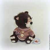Куклы и игрушки ручной работы. Ярмарка Мастеров - ручная работа Шоколадный Бисквитик. Handmade.