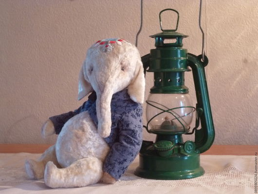 Мишки Тедди ручной работы. Ярмарка Мастеров - ручная работа. Купить Федя Слон. Handmade. Белый, тедди слон