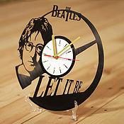 """Часы классические ручной работы. Ярмарка Мастеров - ручная работа Часы """"Леннон"""". Handmade."""