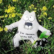 Мягкие игрушки ручной работы. Ярмарка Мастеров - ручная работа Волк из мультфильма. Handmade.