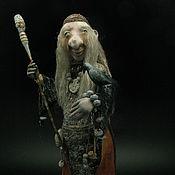 Куклы и игрушки ручной работы. Ярмарка Мастеров - ручная работа Троллиха-ведунья. Handmade.