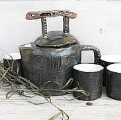 """Чайный комплект """"Ваби-саби"""""""
