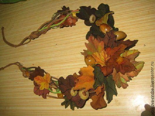 Колье, бусы ручной работы. Ярмарка Мастеров - ручная работа. Купить Колье-пояс Осенний вальс, авторская работа. Handmade.