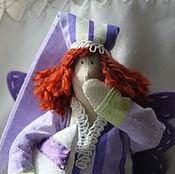 Куклы и игрушки ручной работы. Ярмарка Мастеров - ручная работа Сонный ангел цвета лаванды. Handmade.