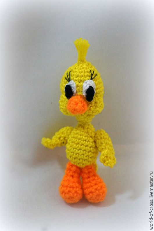 """Игрушки животные, ручной работы. Ярмарка Мастеров - ручная работа. Купить """"Цыплёнок"""". Handmade. Желтый, цыпа, уникальный подарок"""