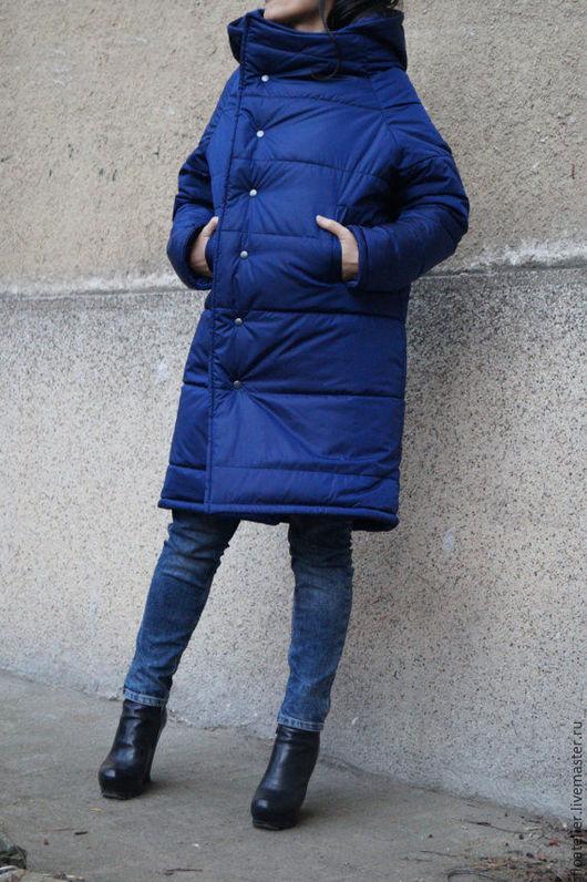 Верхняя одежда ручной работы. Ярмарка Мастеров - ручная работа. Купить Куртка со съемном капюшоном/Модная куртка/F1537. Handmade.