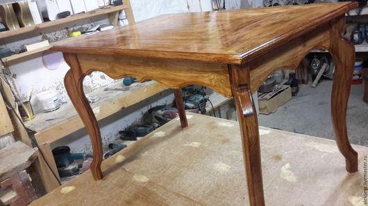 Мебель ручной работы. Ярмарка Мастеров - ручная работа. Купить столик журнальный. Handmade. Бежевый, столик из сосны, мебель из сосны
