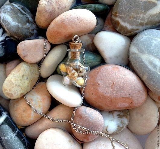 Кулоны, подвески ручной работы. Ярмарка Мастеров - ручная работа. Купить Море всегда со мной. Handmade. Разноцветный, море