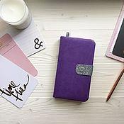 Канцелярские товары handmade. Livemaster - original item Glider-daily planner, bag version. Handmade.