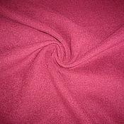 Материалы для творчества ручной работы. Ярмарка Мастеров - ручная работа Пальтовая ткань цвета вишни. Handmade.