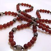 Украшения handmade. Livemaster - original item Long necklace of natural agate. Handmade.