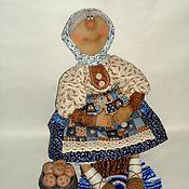 Народная кукла ручной работы. Ярмарка Мастеров - ручная работа Хозяюшка - Примитивная кукла. Handmade.