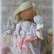 Куклы и игрушки ручной работы. Ярмарка Мастеров - ручная работа I`m Princess коллекционная текстильная куколка. Handmade.