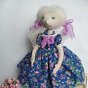 Куклы и игрушки ручной работы. Ярмарка Мастеров - ручная работа Соня - текстильная куколка.. Handmade.