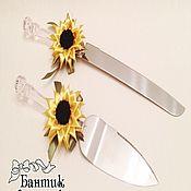 Свадебный салон handmade. Livemaster - original item Devices for the cake knife and shovel