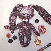 Куклы и игрушки ручной работы. Ярмарка Мастеров - ручная работа Черничная зайка. Handmade.