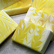 Косметика ручной работы handmade. Livemaster - original item Soap Lemon meringue. Handmade.
