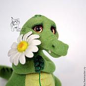 Куклы и игрушки ручной работы. Ярмарка Мастеров - ручная работа Крокодильчик Арчи.. Handmade.