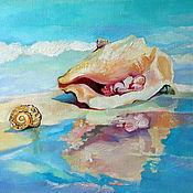"""Картины и панно ручной работы. Ярмарка Мастеров - ручная работа Картина маслом """"Странница"""". Handmade."""