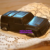 Косметика ручной работы handmade. Livemaster - original item Soap Jeep for real racers. Handmade.