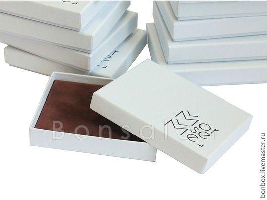 Упаковка ручной работы. Ярмарка Мастеров - ручная работа. Купить Плотная коробочка из переплетного картона 11,5х9х2 см.. Handmade.