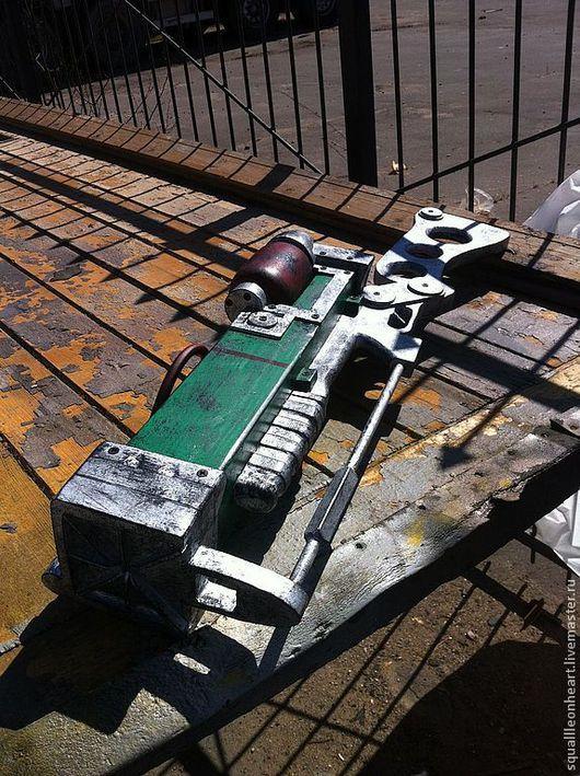 Аниме ручной работы. Ярмарка Мастеров - ручная работа. Купить Крафт Лазерная пушка из Fallout 3. Handmade. Разноцветный, косплей