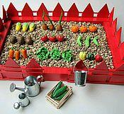 Куклы и игрушки ручной работы. Ярмарка Мастеров - ручная работа Сенсорный огород большой. Handmade.