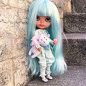 Кастом ручной работы. Ярмарка Мастеров - ручная работа Кукла Blythe Блайз единорог -куколка «Мия». Handmade.