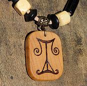 Фен-шуй и эзотерика manualidades. Livemaster - hecho a mano El EQUILIBRIO, el AMULETO-collar, árbol, pirografiya.. Handmade.