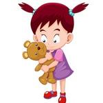 Кукла с мишкой (Надежда) - Ярмарка Мастеров - ручная работа, handmade