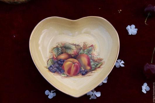 Винтажная посуда. Ярмарка Мастеров - ручная работа. Купить Фарфоровая тарелка, Aynsley, Англия. Handmade. Фарфор, английский стиль, тарелочка