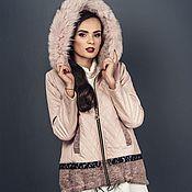 Одежда handmade. Livemaster - original item Womens jacket zip hooded quilted. Handmade.