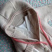 Работы для детей, ручной работы. Ярмарка Мастеров - ручная работа Комбинезон с носочками для новорожденных: меринос+кашемир. Handmade.