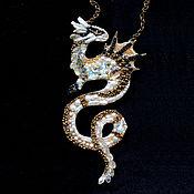 Украшения handmade. Livemaster - original item White dragon. Handmade.