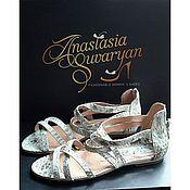 Обувь ручной работы handmade. Livemaster - original item Sandals from Python. Handmade.
