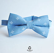 Аксессуары handmade. Livemaster - original item Tie Milord / blue bow tie, blue wedding. Handmade.