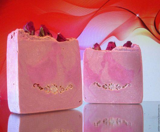 `Сливочная роза` мыло шелковое, натуральное