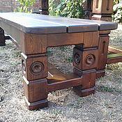 Для дома и интерьера ручной работы. Ярмарка Мастеров - ручная работа Лавка деревянная. Handmade.