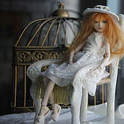 Куклы и игрушки ручной работы. Ярмарка Мастеров - ручная работа кукла Адель. Handmade.