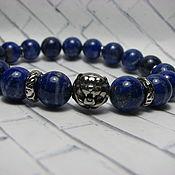Украшения handmade. Livemaster - original item Lapis lazuli bracelet