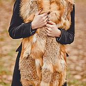 Аксессуары handmade. Livemaster - original item Fox fur scarf. Handmade.
