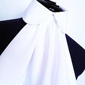 Украшения handmade. Livemaster - original item Collar with Frill, Irreprochably / white. Handmade.
