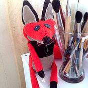 Куклы и игрушки ручной работы. Ярмарка Мастеров - ручная работа Мистер Лис дизайнерская версия. Handmade.
