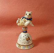 Сувениры и подарки handmade. Livemaster - original item Porcelain bell