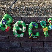 Для дома и интерьера ручной работы. Ярмарка Мастеров - ручная работа Интерьерная гирлянда Весна. Handmade.