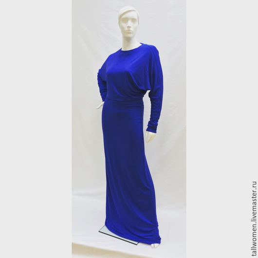 Платья ручной работы. Ярмарка Мастеров - ручная работа. Купить Платье. Handmade. Высокий рост, высокие женщины, вискоза италия